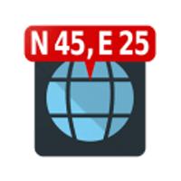 Map Coordinates 4.5.0 برنامه تعیین مختصات روی نقشه برای اندروید