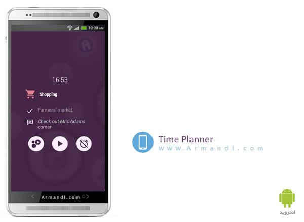 Time Planner Tasks & Schedule
