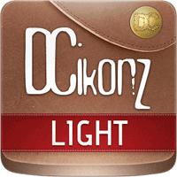 DCikonZ Light 1.4.8 تم بسیار زیبا برای اندروید