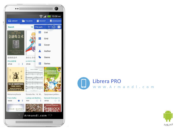 PRO Lirbi Reader PDF eBooks