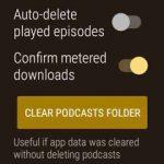 NavCasts Wear Podcast Player