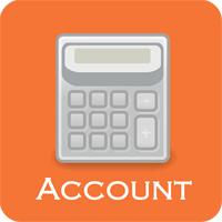 Account Accounting Calculator 1.0 ماشین حساب حسابداری برای اندروید
