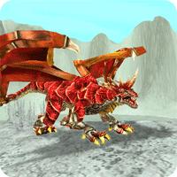Dragon Sim Online Be A Dragon 5.4 بازی شبیه ساز اژدها برای موبایل