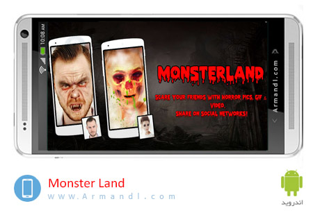 Monster Land Zombie Video GIF Photo Editor