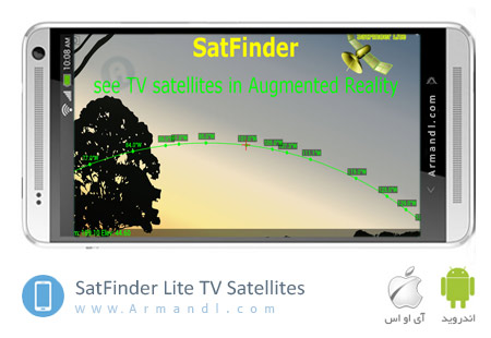 SatFinder Lite TV Satellites
