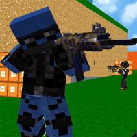 Blocky Combat SWAT 1.25 بازی نبرد بلوکی برای اندروید