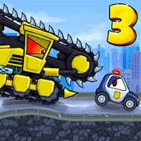 Car Eats Car 3 Racing Game 1.0.87 بازی مسابقه ماشین ها برای اندروید