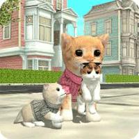 Cat Sim Online Play with Cats 3.6 بازی شبیه سازی زندگی گربه برای موبایل