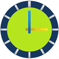 ClockView Pro Always On Talking World time Widget 3.67 برنامه ساعت اندروید