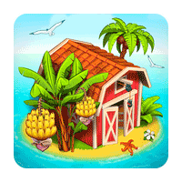 Farm Paradise Hay Island Bay 1.69 بازی مزرعه داری برای موبایل