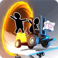 Bridge Constructor Portal 1.3 بازی پل سازی برای موبایل