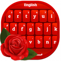 Red Rose Keyboard 3.9.9 صفحه کلید زیبا برای اندروید