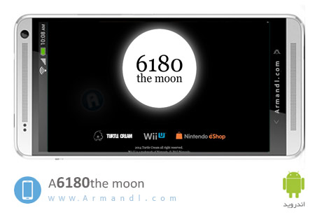 A 6180 the moon