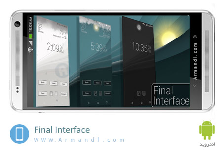 Final Interface launcher animated weather