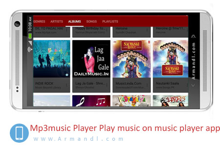 Mp3 music Player Play music on music player