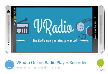 VRadio Online Radio Player & Recorder