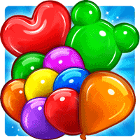 Balloon Paradise Free Match 3 Puzzle Game 3.7.2 بازی بهشت بادکنک ها برای موبایل