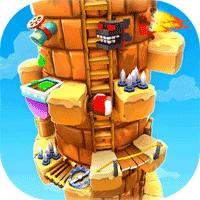 Blocky Castle 1.3.4 بازی قلعه بلوکی برای موبایل