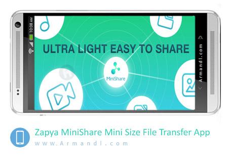 Zapya MiniShare Mini Size File Transfer App