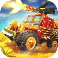 Zombie Offroad Safari 1.2.1 بازی ماشین سواری در غرب برای اندروید