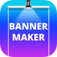Banner Maker Web Banner Ads Roll Up Banners 2.0 برنامه ساخت بنر برای اندروید