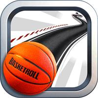 BasketRoll 3D Rolling Ball 2.1 بازی چرخش توپ بسکتبال برای موبایل
