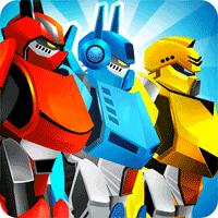 Automatrons Shoot and Drive 3.55 بازی ربات های دونده برای اندروید