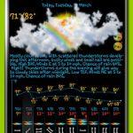 eWeather HD with Weather alerts