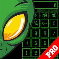 Alien Calculator 1.0 ماشین حساب حرفه ای برای اندروید