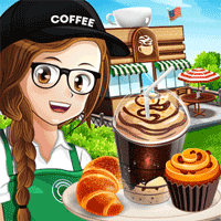 Cafe Panic Cooking Restaurant 1.8.3 بازی مدیریت کافه برای اندروید