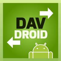 DAVdroid CalDAV CardDAV Sync 2.0.4 برنامه همگام سازی برای اندروید