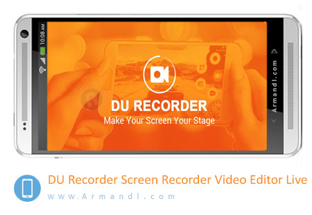 DU Recorder Screen Recorder Video Editor Live