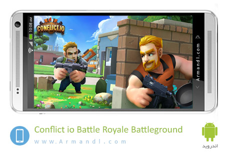 Conflict.io Battle Royale Battleground