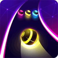 Dancing Road Colour Ball Run 1.0.8 بازی حرکت توپ برای اندروید