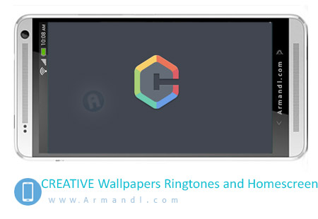 CREATIVE Wallpapers Ringtones and Homescreen
