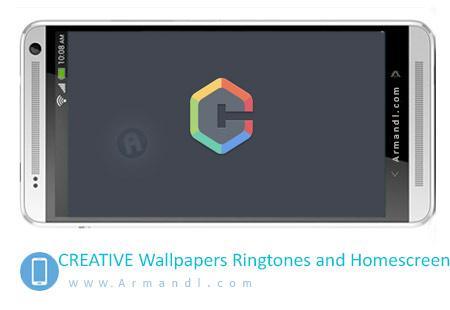 CREATIVE Wallpapers Ringtones and Homescreen