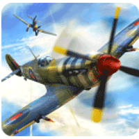 Warplanes WW2 Dogfight 1.2 بازی نبرد جنگ جهانی دوم برای اندروید