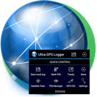 Ultra GPS Logger 3.160n نرم افزار ردیاب GPS برای اندروید